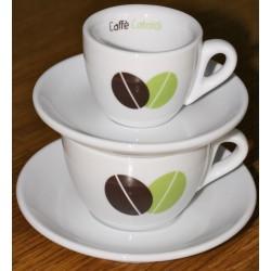 Tasses espresso et cappuccino en porcelaine épaisse