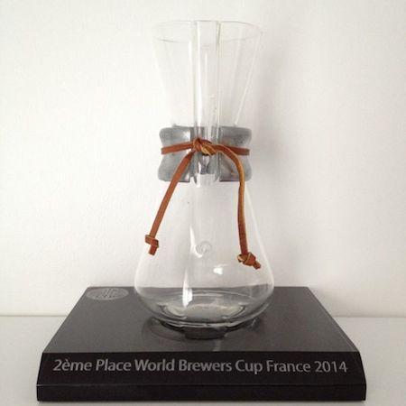 Deuxième place de la Brewer's Cup France 2014