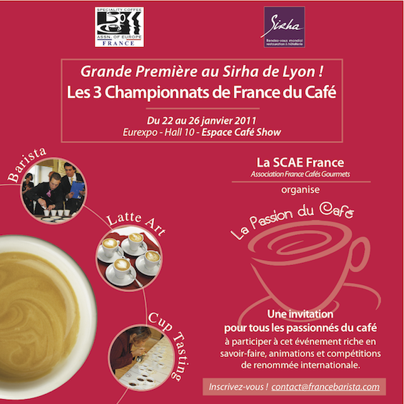 French Barista Championship, SCAE France