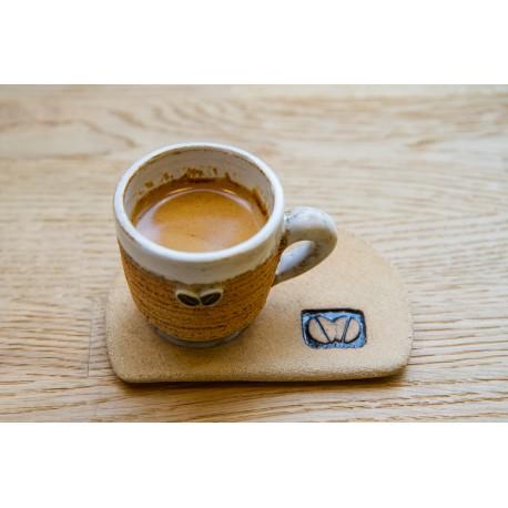 """Tasse espresso artisanale série limité """"biscuit"""""""