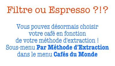 Filtre ou Espresso ?